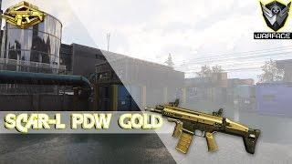 getlinkyoutube.com-Warface #71 Scar-L PDW Gold PTB D17. Macro? sera...