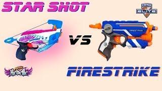 Nerf Rebelle Star Shot vs Elite Firestrike [deutsch/german]