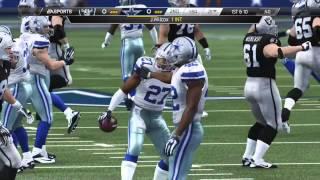 getlinkyoutube.com-Thanksgiving Day Madden 25 (PS4): Raiders vs Cowboys - 1st Half