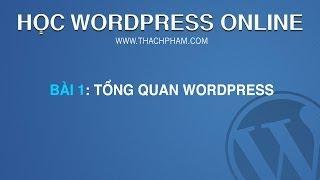 Học WordPress 2014 Bài 1: WordPress là gì?