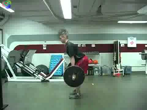 Romanian deadlift RDL