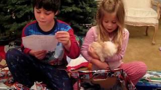 getlinkyoutube.com-Kids Getting a New Puppy on Christmas
