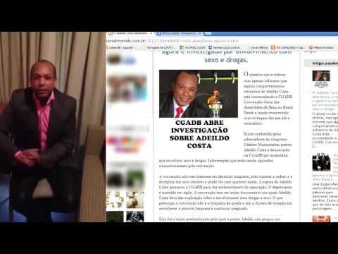 Bomba! Caia  a Farsa do CRENTE SANTÃO após Caluniar Pr. Adeildo Costa e Capelão Ricardo Ribeiro.