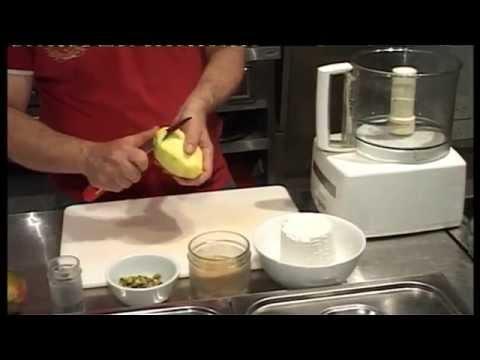Αναρή με φρέσκο μάνγκο και φυστίκια Αιγίνης