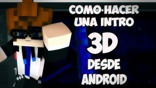 getlinkyoutube.com-Cómo hacer una intro 3D desde Android || Cómo C4D ||