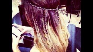 getlinkyoutube.com-Coachella Hippie Hair Style