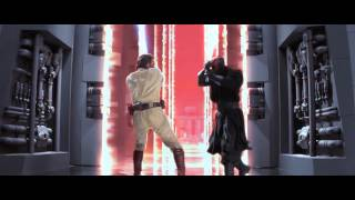 getlinkyoutube.com-Every Lightsaber Duel from Star Wars