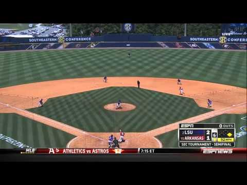 05/25/2013 LSU vs Arkansas Baseball Highlights