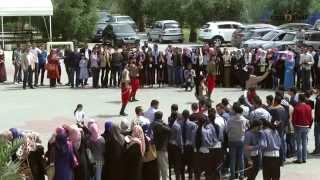 getlinkyoutube.com-أنا دمي فلسطيني - محمد عساف - جامعة غزة