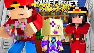 getlinkyoutube.com-Minecraft Adventure - PRANKING LITTLE KELLY BUT RAMONA CATCHES US!!