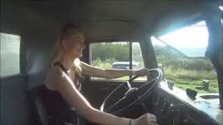 getlinkyoutube.com-Trucking Girl - Jazda Krazem na Summer Cars Party, Kraz driving on SCP ep. 28