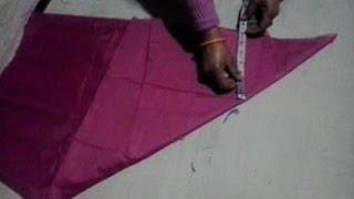 getlinkyoutube.com-umbrella frock cutting in hindi
