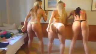 Brasileñas demasiadas sexy bailando rico