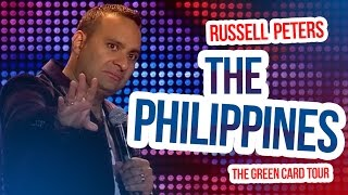 """getlinkyoutube.com-""""The Philippines""""   Russell Peters - The Green Card Tour"""