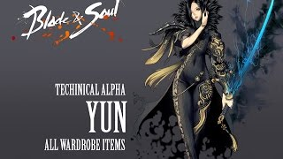 getlinkyoutube.com-Blade & Soul All Costumes ( Yun )