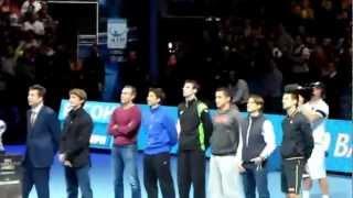 Juan Carlos Ferrero tribute in London (Nov 9, 2012)
