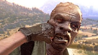 getlinkyoutube.com-KNOCKING OUT ZOMBIES! (Dying Light The Following)