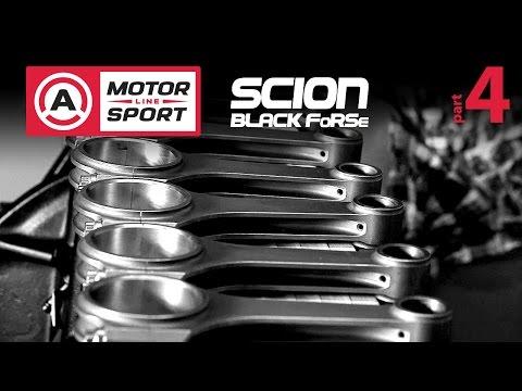 Тюнинг Scion F-RS — 4 серия. Собираем двигатель!