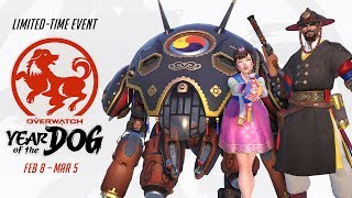 Overwatch - Lunar New Year 2018 Seasonal Event