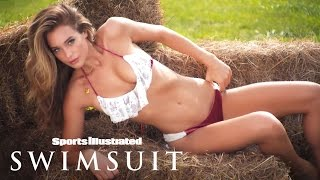 getlinkyoutube.com-Hannah Davis Uncovered | Sports Illustrated Swimsuit 2015