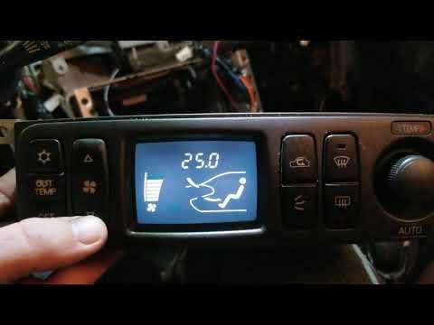 Установка климат контроля в Mitsubishi Eclipse 3
