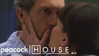 House and Cameron Kiss For The First Time | House M.D. width=