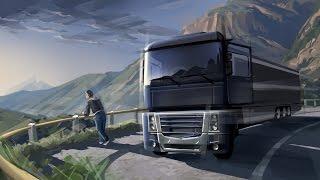 getlinkyoutube.com-✯ Euro Truck Simulator 2 ✯ Carreteras Complicadas ➬ Cap 008 1/2