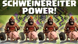 getlinkyoutube.com-SCHWEINEREITER POWER FARMING! || CLASH OF CLANS || Let's Play COC [Deutsch/German HD]