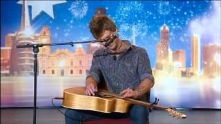 getlinkyoutube.com-Owen Campbell - Angry Busker -  Australia's Got Talent 2012 audition 3 [FULL]