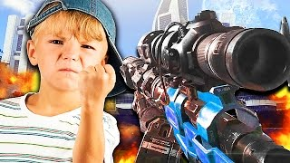 getlinkyoutube.com-WORST TRASH TALKING KID OF ALL TIME! (Call of Duty 1v1 Trolling)