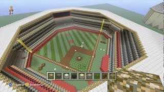 Minecraft Baseball field