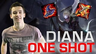 getlinkyoutube.com-Diana | Comment One Shot en - de 1 sec | 40 kills ?? DominGo