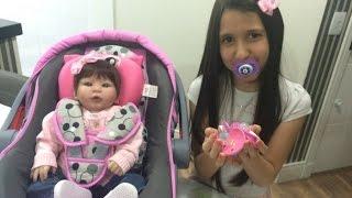 getlinkyoutube.com-Como fazer chupeta magnética para sua bebê reborn
