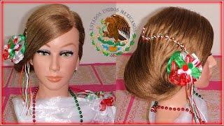 PEINADOS MEXICANOS \u0026quot;RECOGIDO \u0026quot;15 DE SEPTIEMBRE \u0026quot;FIESTAS PATRIAS\u0026quot;  REVOLUCION