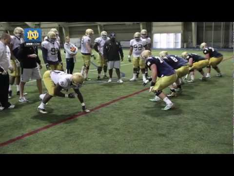 Notre Dame Football Spring Practice Update - April 5, 2013