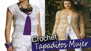 getlinkyoutube.com-Tapaditos de Mujer - Tejidos a Crochet ( Diseños e Imagenes )