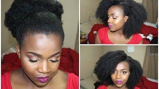 getlinkyoutube.com-Most Natural Versatile FAKE Afro Everr! Tutorial- Start to Finish- (Crochet-Braids)   DanTemmy
