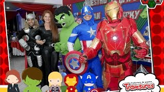 getlinkyoutube.com-Show Avengers - Shows Infantiles - Travesuras Kids ‪