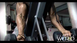 getlinkyoutube.com-Ulisses Trains Arms Biceps and Triceps