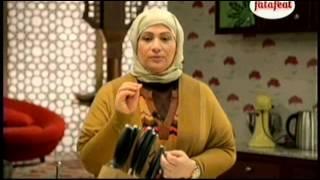المكرون الأساسي بعدة ألوان والحشو بعدة نكهات - ملح و فلفل - وفاء الكندري