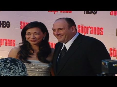 2007: James Gandolfini on 'The Sopranos' red ca...