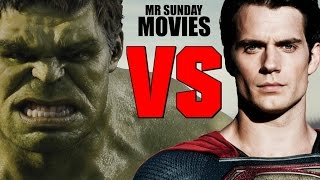 SUPERMAN VS. THE HULK - Who Would Win?