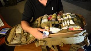 getlinkyoutube.com-Voodoo Tactical Spec Ops Medical Bag A Prepper Kit!