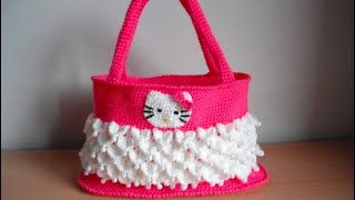 getlinkyoutube.com-how to crochet hello kitty bag by marifu6a free pattern tutorial