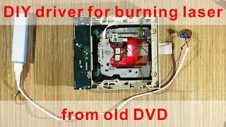 getlinkyoutube.com-DIY Simple power driver for Burning Laser from old DVD