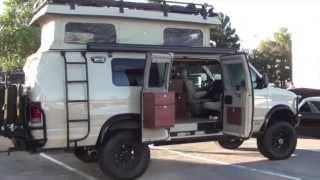 getlinkyoutube.com-Sportsmobile 4x4 camper van :SEMA Show Las Vegas