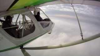 getlinkyoutube.com-Vuelo Deportivo GT500 3 metros sobre las nubes