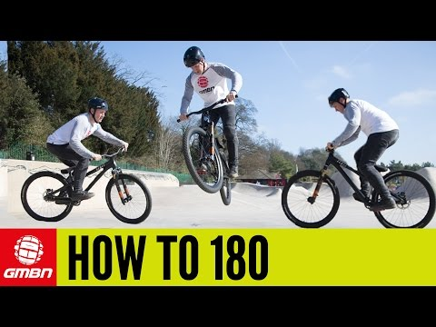 How To 180 A Mountain Bike | MTB Skills