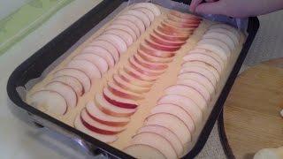 getlinkyoutube.com-Fini brzi kolač od jabuka - Video recept