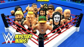 getlinkyoutube.com-WWE Toys Shake Rumble with WWE Mystery Minis - Seth Rollins John Cena Brock Lesnar // RUMBLE LEAGUE